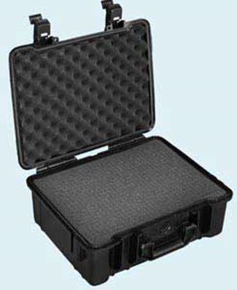 Bild von TYP 50 – Černý vodotěsný kufřík vč. pěnové vložky s bezpečnostním uzavíráním.