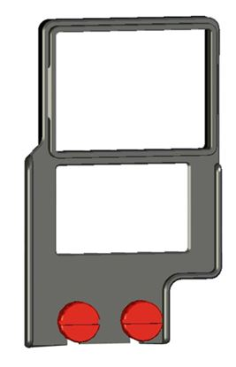 "Bild von Z-Finder 3"" Mounting Frame for Small DSLR Bodies with Battery Grips"