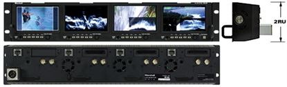 Picture of OR-434 Quad 4.3' Rack Mount Monitor